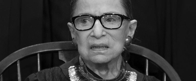 Nie żyje Ruth Bader Ginsburg. Słynna sędzia i ikona feminizmu miała 87 lat