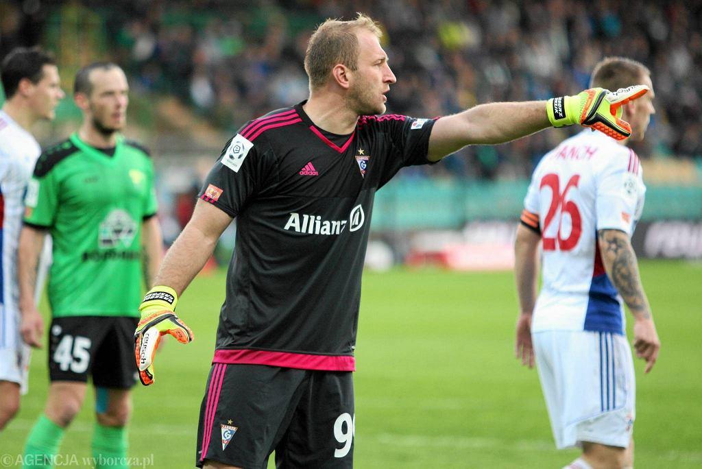 Górnik Łęczna - Górnik Zabrze 0:0. Grzegorz Kasprzik