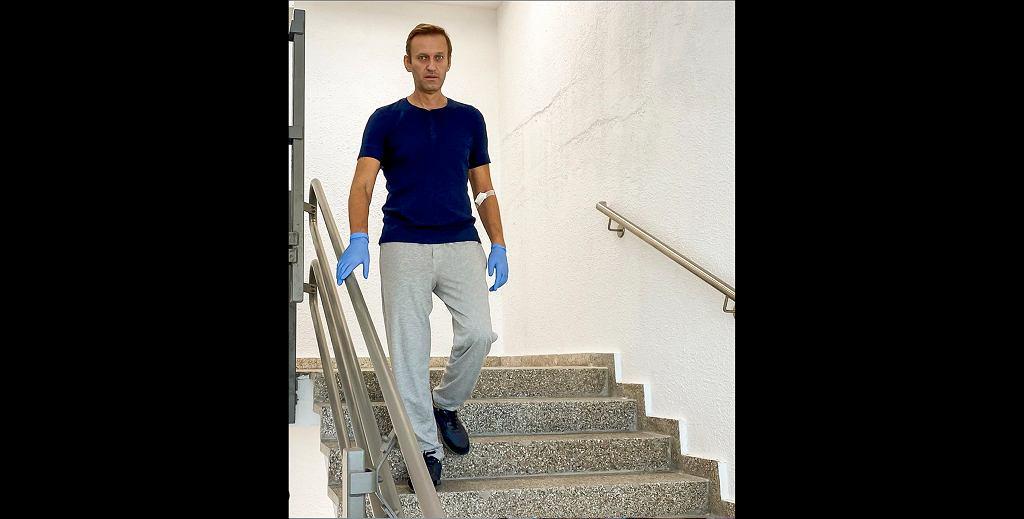 Aleksiej Nawalny dochodzi do zdrowia w szpitalu