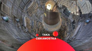 Rakieta Titan II w silosie. Zdjęcie z muzeum