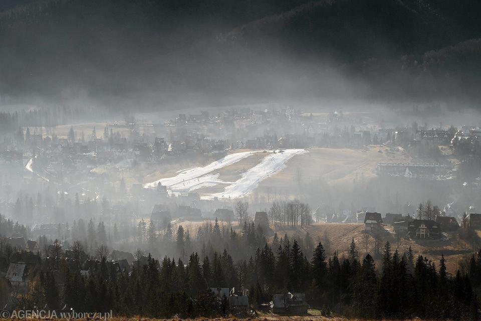 Smog nad Zakopanem, 31 stycznia 2016