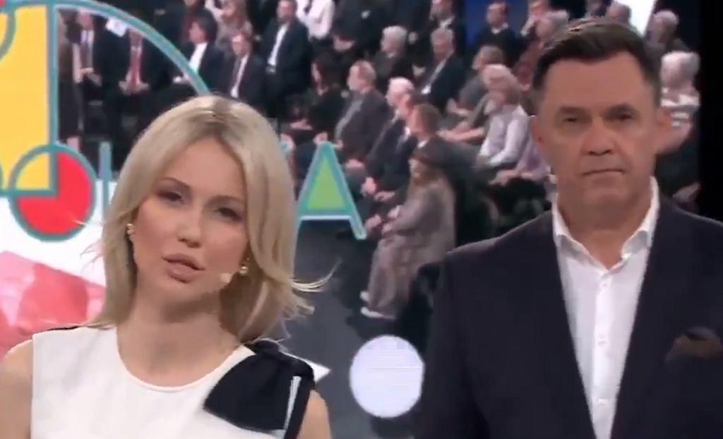 Magdalena Ogórek i Jacek Łęski, Studio Polska z 5 października