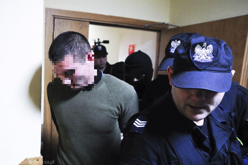 Kamil Z. - podejrzany o podpalenie stróżówki na terenie ambasady Rosji
