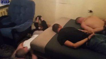 Trójka więźniów oraz i pomocnik złapani w mieszkaniu w Poznaniu
