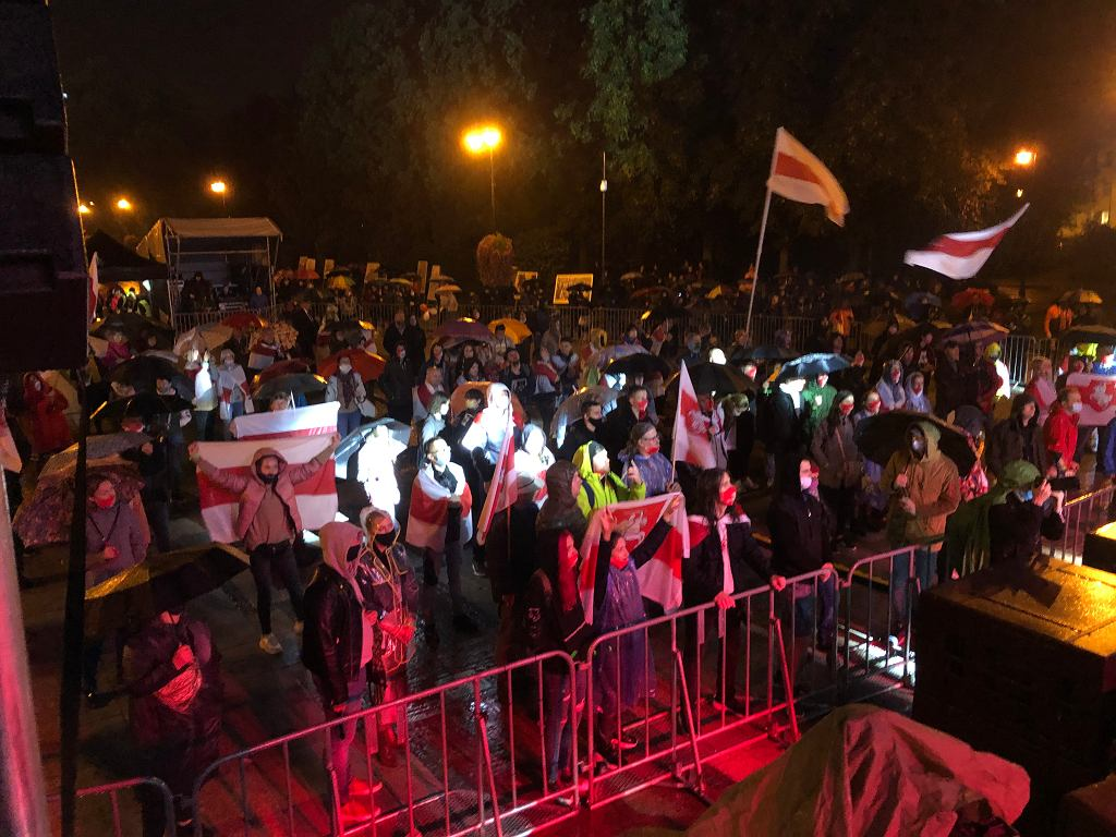 Koncert 'Solidarni z Białorusią' w Białymstoku