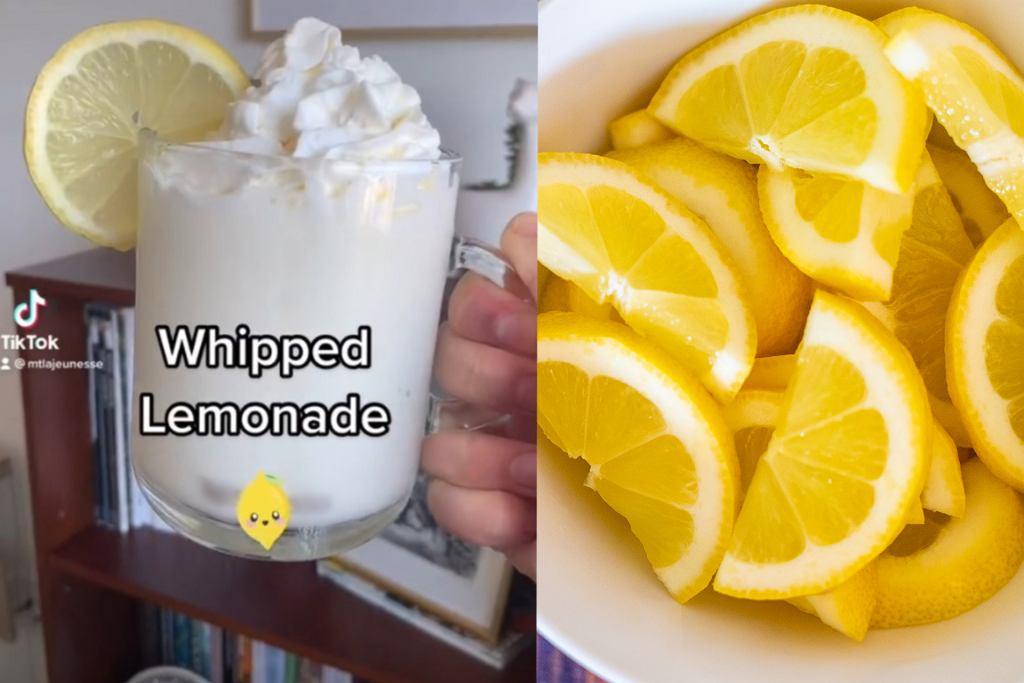 Pamiętacie dalgona coffee? Teraz internet opanował nowy hit - bita lemoniada, czyli... cukrzyca w szklance