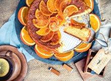 Ciasto pomarańczowo-migdałowe - ugotuj