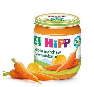 Młoda marchew z ziemniakami HiPP BIO