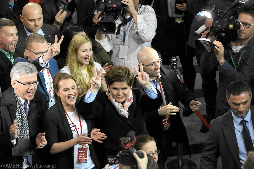 Sztab PiS po debacie wyborczej