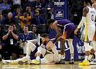 Stephen Curry kontuzjowany! Rozkład Golden State Warriors trwa [WIDEO]