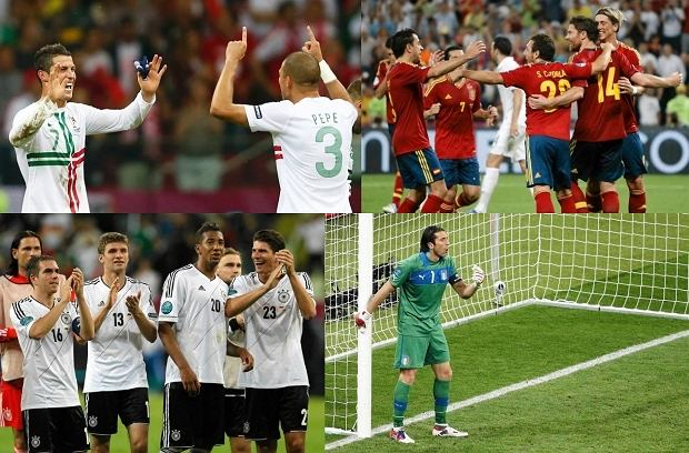 Półfinaliści Euro 2012