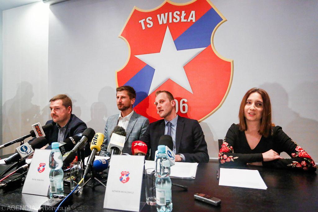Konferencja władz Wisły Kraków.