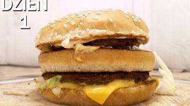 Eksperyment z kanapką Big Mac