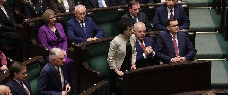 """Witek marszałkiem Sejmu. """"Krucha, delikatna, ale twarda i z charakterem"""""""