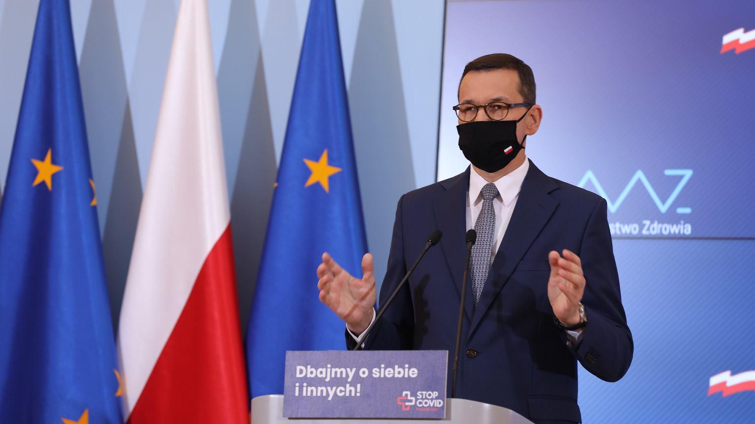 Konferencja premiera Mateusza Morawieckiego. O kt