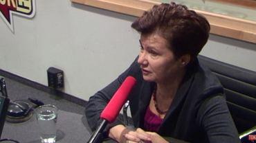 """Hanna Gronkiewicz-Waltz w """"Poranku Radia TOK FM"""""""