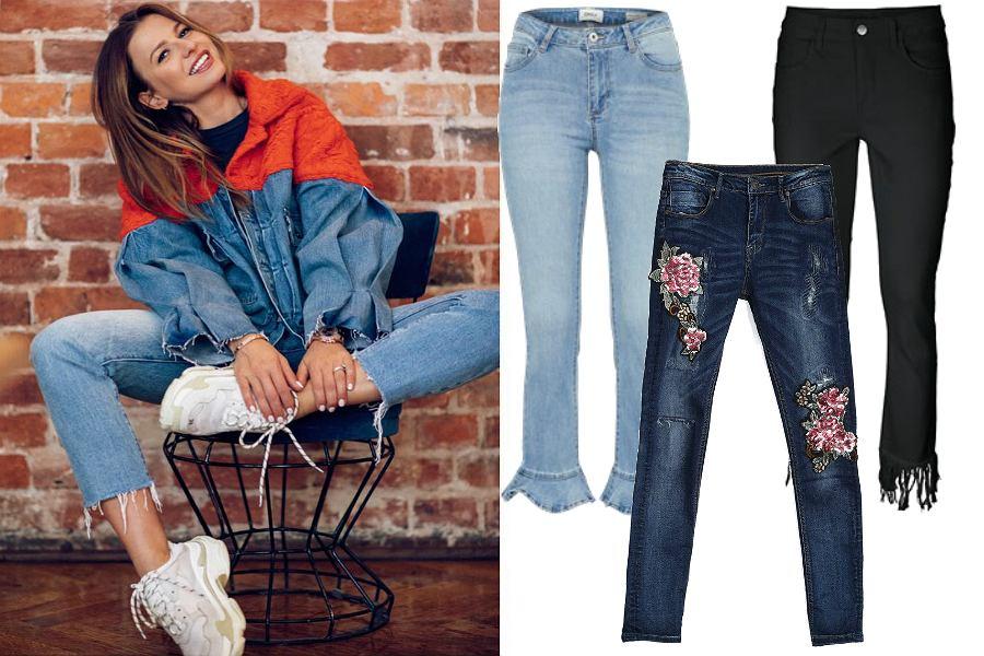 Jeansy modelujące pupę