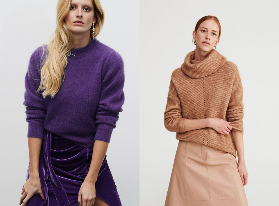 swetry z moherem