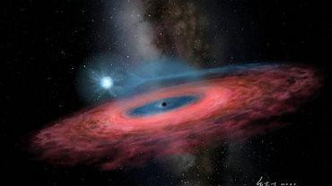 Kosmos. Grupa astronomów, w której znalazł się Polak, odkryła czarną dziurę za dużą, żeby istnieć
