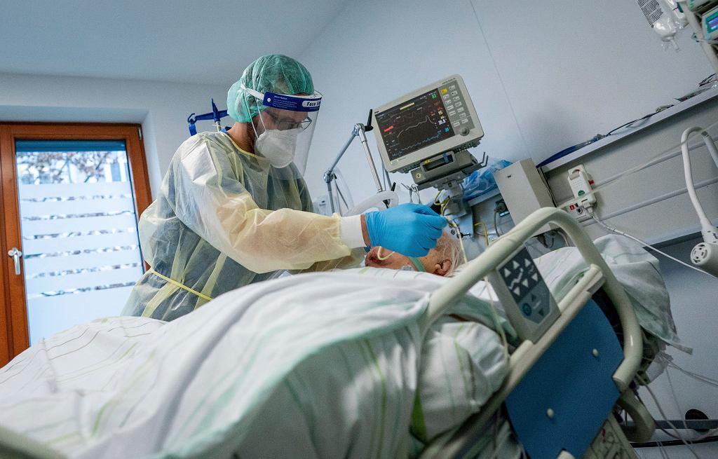 Niemcy. Opieka medyczna w czasie koronawirusa. Zdjęcie ilustracyjne.