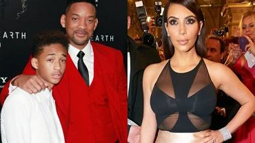 Will Smith, Jaden Smith, Kim Kardashian