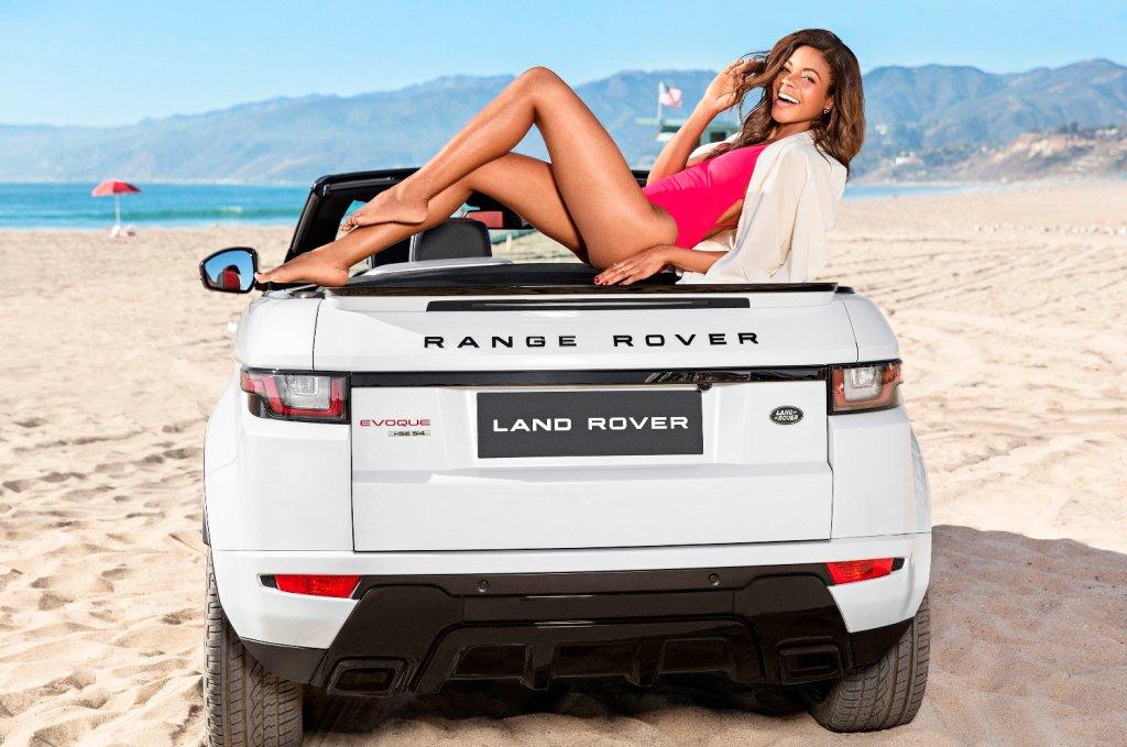 Range Rover Evoque Cabrio i Naomie Harris