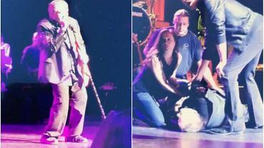 Meat Loaf podczas koncertu w Edmonton w Kanadzie, 16.06.2016