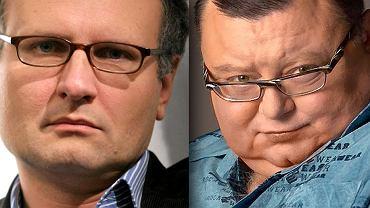Paweł Lisicki i Wojciech Mann