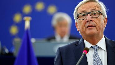 Jean-Claude Juncker w Parlamencie Europejskim