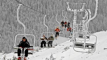 Wyciąg w Kotle Goryczkowym, Tatry