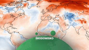 Anomalia temperatury w listopadzie 2020 roku