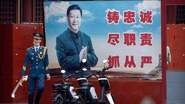 Xi Jinping. Pekin, Chiny.