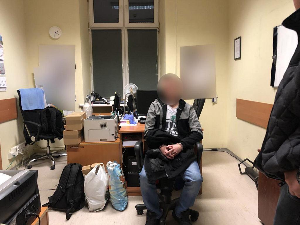 28-latek jest podejrzewany m.in. o planowanie zamachu na Sejm
