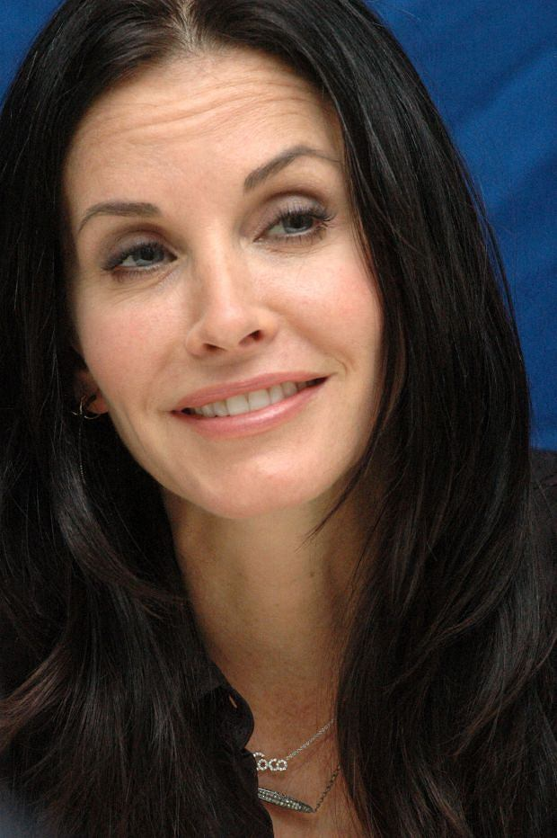 """Courtney Cox at the Hollywood Foreign Press Association press conference for the television show """"Cougar Town"""" held in Los Angeles, California on October 29, 2010. Photo by: Yoram Kahana_Shooting Star. NO TABLOID PUBLICATIONS. NO USA SALES UNTIL January 30, 2011."""