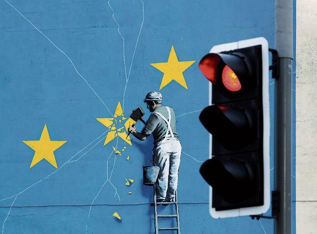 Mural Banksy'ego w Dover, 11 grudnia 2015
