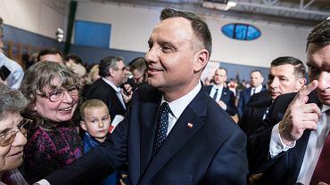 Andrzej Duda w Wołowie na Dolnym Śląsku