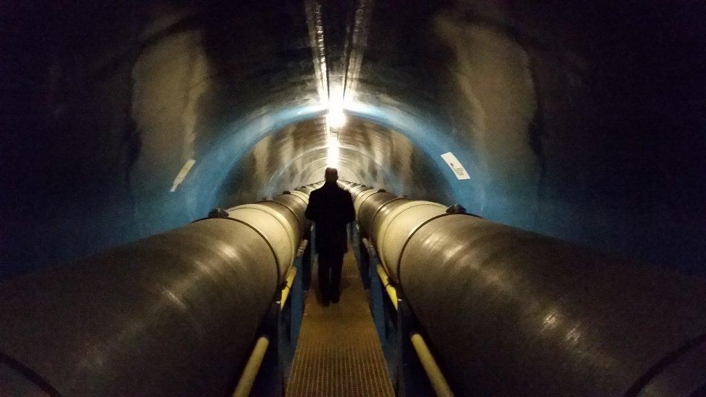 Tunel prowadzący do