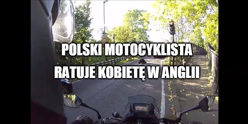 biker for the rescue