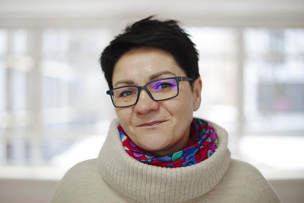 Iwona Jeziorska ze Stowarzyszenia Integracja (fot: Jakub Tercz)