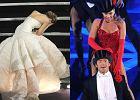 Oscary 2020. Upadek Jennifer Lawrence i naga pierś Beyonce. Przypominamy największe Oscarowe wpadki
