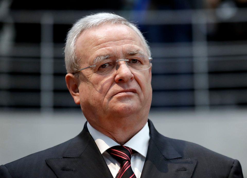 Martin Winterkorn, były szef Volkswagena.