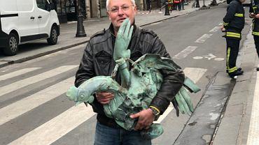 Kogut z Notre Dame odnaleziony