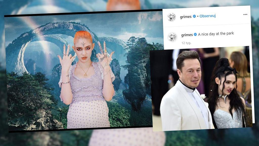 Elon Musk z dziewczyną