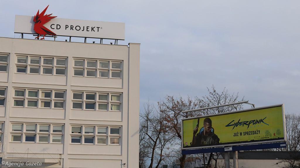 Siedziba CD Projekt w Warszawie, 28 grudnia 2020