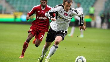 Legia zremisowała z Wisłą 2:2. Przy piłce Miroslav Radović