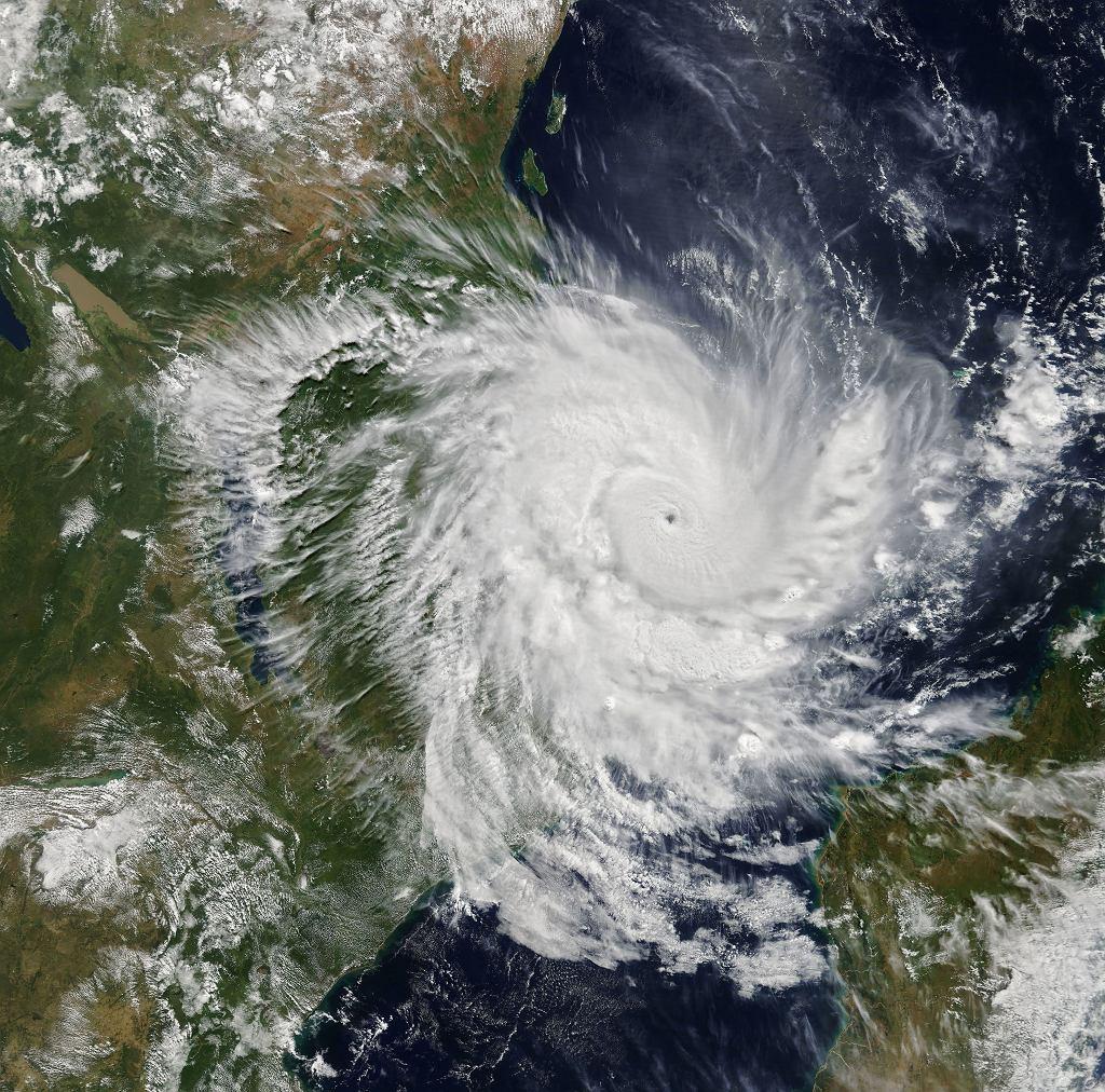 Cyklonu Kenneth nad Mozambikiem i Tanzanią