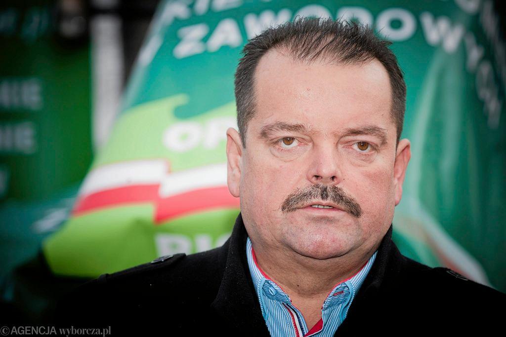 Sławomir Izdebski, szef rolniczego OPZZ