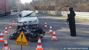 Nietypowa akcja policjantów z Kielc
