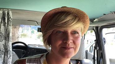 Edyta Niewińska, pisarka z Polski, na stałe mieszkająca w Hiszpanii
