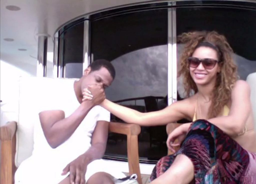 Beyonce i Jay Z w teledysku 'Die With You' / screen z Tidal